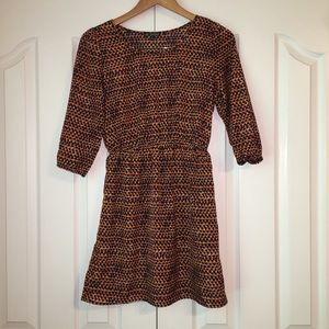 BeBop Polka Dotted Bell Sleeve Mini Dress Size S